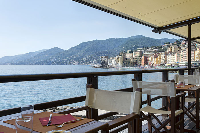 Restaurant La Playa in Camogli